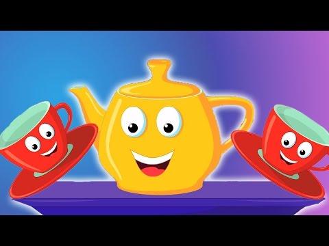 Я маленький чайник | чайника песни для детей | детские стишки | I Am a Little Teapot Song