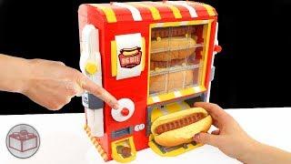LEGO Hot Dog Machine with Ketchup, Mayka Tape and Mustard