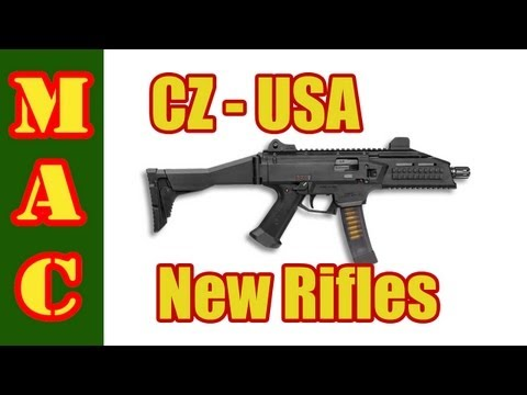 SHOT Show - CZ Scorpion Evo 3 and 805 Bren