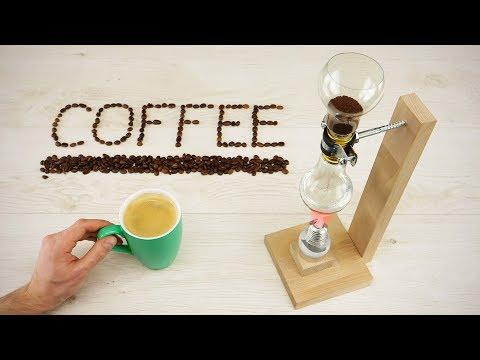 DIY Vacuum Coffee Maker out of Light Bulbs (видео)