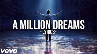 Download Video The Greatest Showman - A Million Dreams (Lyric Video) HD MP3 3GP MP4