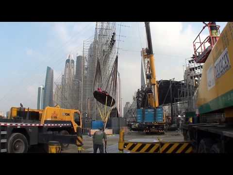 В Дубае установили рогатку для запуска людей в воздух со скоростью 200 км/ч