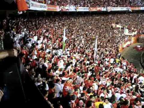 Camisa Vermelha Final Libertadores 2010 - Guarda Popular do Inter - Internacional