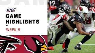 Falcons vs. Cardinals Week 6 Highlights   NFL 2019