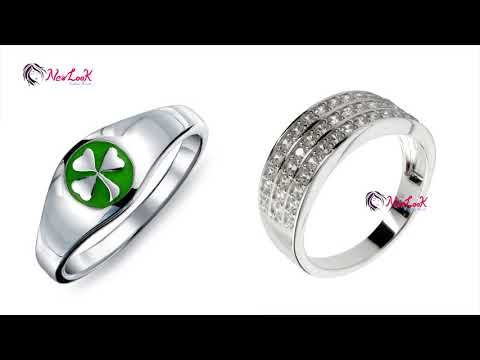 Silver Ring Designs For Female | Silver Jewelry for Women