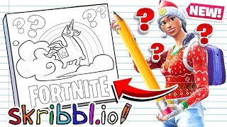 DRAWING Fortnite CHALLENGE! *NEW* Mini-Game