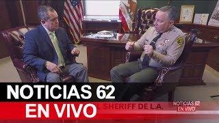 Difícil situación para el sheriff Alex Villanueva. – Noticias 62. - Thumbnail