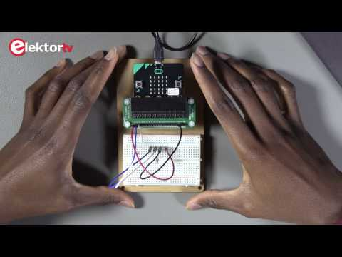 How to use the BBC micro:bit on board accelerometer