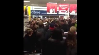 Cheshunt United Kingdom  city pictures gallery : Black Friday Fights in Cheshunt England 2014