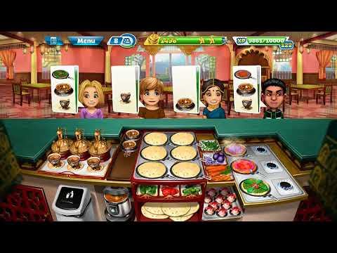 Cooking Fever/ Indian Diner (Level 40) 3 Stars