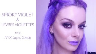 MAKEUP TUTORIAL | all purple everything