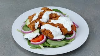 Buttermilk Fried Chicken Salad by Tasty