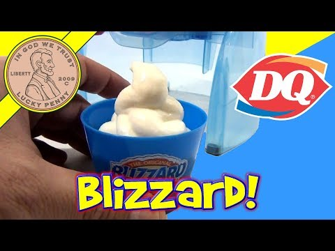 toys - Find this item: http://www.luckypennyshop.com/dq-blizzard-maker-set.htm ** Watch our product video for Dairy Queen Blizzard Ice Cream Maker (Viewer Video ...