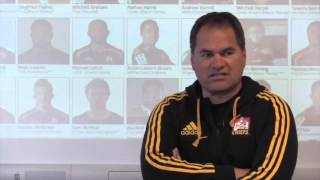 Dave Rennie discusses the Chiefs 2016 Super Rugby squad | Super Rugby Video