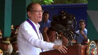 Aquino praises Marquez in last speech before PNP
