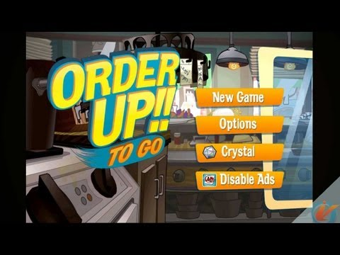 Order Up!! To Go - IPhone Gameplay Video