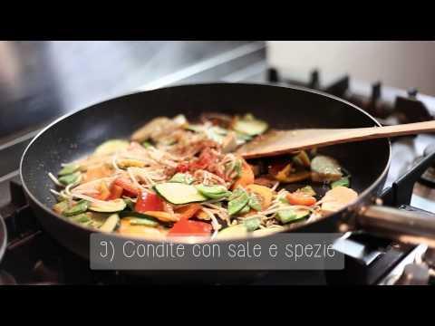 tempeh con verdure - ricetta