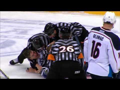 KHL Fight: Kuznetsov VS Giroux (видео)