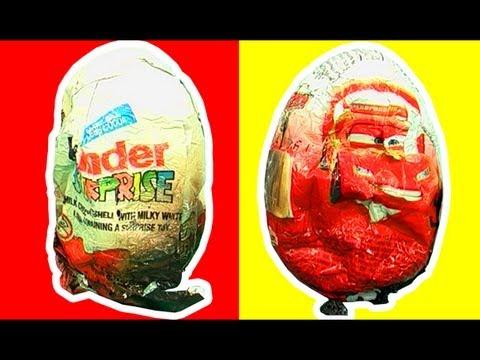 Surprise Eggs Crash Unwrapping Thomas Percy Vs Lightning