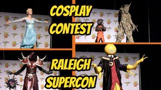 FULL COSPLAY CONTEST AT RALEIGH SUPERCON 2017 | Amazing & Talented Cosplayers!