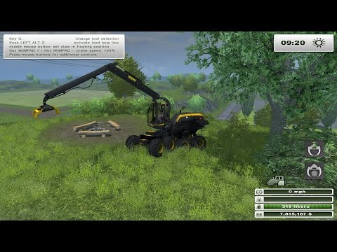 Ponsse Scorpion with downhill v0.9 beta