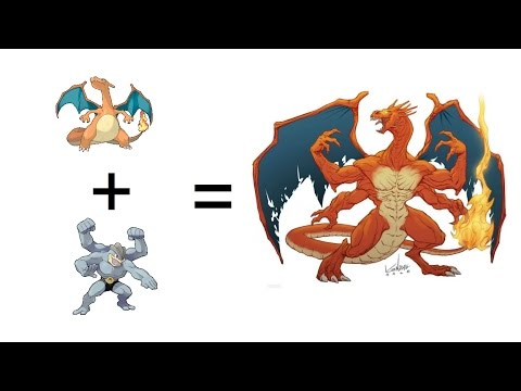 Pokemon Evolutions You Wish Existed! Legendary Pokemon Fusion Part 2