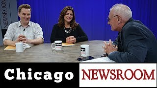 """Ken Davis is joined by The Tribune's John Byrne and Politico's Natasha Korecki. They discuss the situation with state funding for schools and the impending effort to repeal Governor Rauner's amendatory veto. They also tackle Cook County slate-making, which begins today, and the potential challenge to Toni Preckwinkle, whose popularity is falling as a result of the much-despised """"pop tax."""" Also on the agenda: Mayor Emanuel's highly public defense of Chicago's """"welcoming cities"""" status, despite his record of being lukewarm to the rights of undocumented immigrants. This program was produced by Chicago Access Network Television (CAN TV)."""