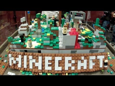 Minecraft Museum Of Mojang Tour - PAX 2012