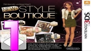 Let's Play New Style Boutique - Part 1 - Endlich der ersehnte Traumjob!