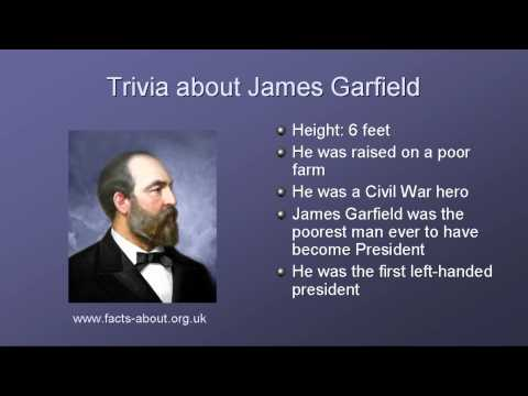 President james a garfield quotes quotesgram for Fun facts about the presidents