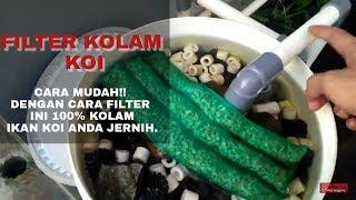 Download Video MUDAH!!  KOLAM IKAN KOI JERNIH BANGET PAKE FILTER BUATAN SENDIRI MP3 3GP MP4