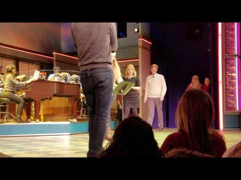 "2016 12 21 Sara Bareilles ""You Matter To Me"" Proposal Waitress Karaoke New York, NY"