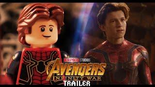 Avengers Infinity War Trailer 2 in LEGO Side by Side Comparison