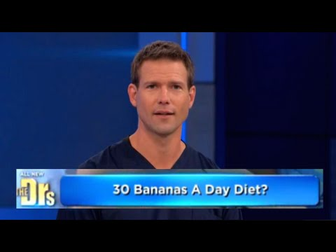 30 Bananas A Day Diet On The Doctor's Show!