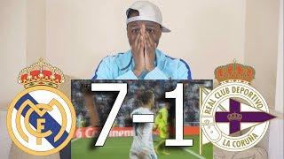 Video Barcelona Fan React To ● Real Madrid VS Deportivo 7-1 ● All Goals & Highlights MP3, 3GP, MP4, WEBM, AVI, FLV Juni 2019