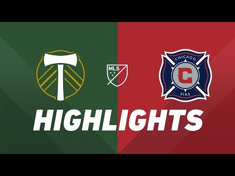 Video: Portland Timbers vs. Chicago Fire | HIGHLIGHTS - August 14, 2019