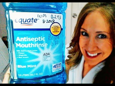 Equate Antiseptic Mouthrinse Review | DoesThis Store Brand Work?