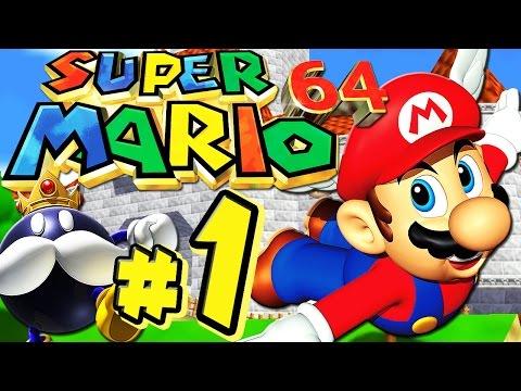 SUPER MARIO 64 # 01 ★ Kurs 1: Bob-Ombs Bombenberg! [HD   60fps] Let's Play Super Mario 64