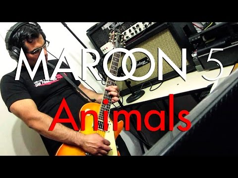 Maroon 5 – Animals | Electric guitar cover (instrumental)