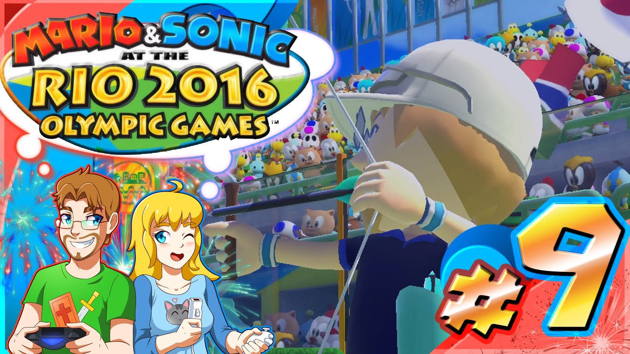 Mario & Sonic at the Rio Olympic Games Part 9 ARCHERY Tournament