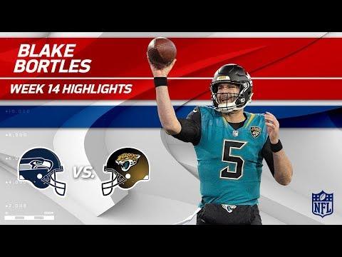 Video: Blake Bortles' Big Day w/ 2 TDs vs. Seattle! | Seahawks vs. Jaguars | Wk 14 Player Highlights