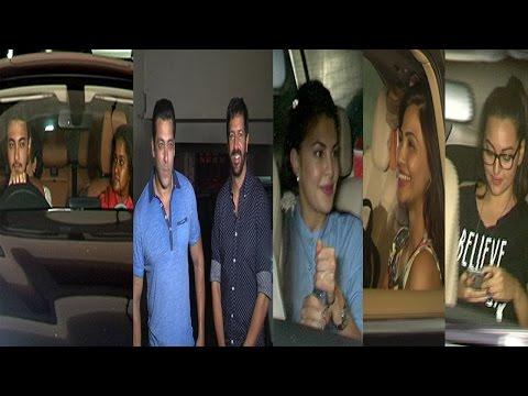 Salman Khan, Sonakshi Sinha & Others At Special Screening Of Film Bajrangi Bhaijaan