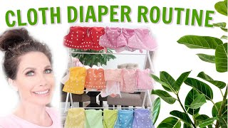 MY CLOTH DIAPER ROUTINE | HOW I WASH & STORE MY CLOTH DIAPERS by Channon Rose
