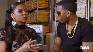 Nelly Talks to Ashanti About Chris Brown, Twitter and Women's Thighs - Artist on Artist