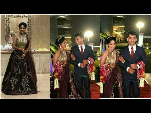 #Reception#swaroopBharadwaj Meghana Lokesh Reception unseen videos|GrandEntry Video