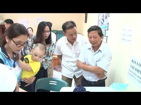 Kiểm tra công tác tổ chức Ngày vi chất dinh dưỡng tại Gia Lâm, Long Biên, Hoàn Kiếm