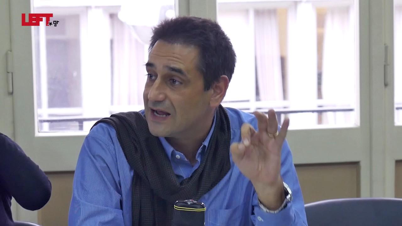 Ελληνική Πρωτοβουλία STOP TTIP CETA TiSA -Γρηγόρης Ζαρωτιάδης