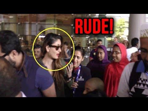 Kareena Kapoor Khan ACTS RUDE as Qatar Staff Welco