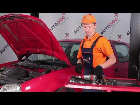 Comment remplacer un kit de réparation jambe de suspension sur une VW GOLF 4 TUTORIEL | AUTODOC