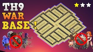 Clash of Clans Best TH 9 War Base 2017 with PROOF! This Town Hall 9 War Base is Anti Everything Anti Valkyrie th9 base Anti 2 Star Anti 3 Star Anti Lavaloon Anti Bowler Anti Hog Anti Gowipe. CoC Best War Base th9. Stay tuned for more th9 base design / th9 base layout / speed builds / hybrid base / noob troll base / defensive replays!This Base is recorder after the new update in Clash of Clan game - Builder Base update.Get Strongest and new Town hall 9 base layout: https://www.youtube.com/playlist?list=PLPOYibGB5JOW6PqnoX1vIHOiTYD_YDu1n------------------- Thank You for Watching! ------------------➜ FASTEST WAY TO EARN FREE GEMS: http://cashforap.ps/finite➜ Please Like ,Share And Subscribe!!➜ Share: https://youtu.be/Srll4EnZYG8   ➜ Subscribe: https://goo.gl/AWuJLF ------------------------------------------------------➜ Bringing to you: Clash of Clans [CoC]  Attack Strategies and Raids  War Base layout  Farm Base layout  For Town Hall - TH7 TH8 TH9TH10 AND TH11  For Builder Hall –  BH3 BH4 BH5 BH6 BH7------------------------------------------------------➜Clash of Clans TH9 Farming Base 2017 [Town Hall 9 Base]https://youtu.be/2yoss9O9KmI------------------------------------------------------➜Clash of Clans TH9 Attack Strategy War Base [Town Hall 9]https://www.youtube.com/playlist?list=PLPOYibGB5JOWDj2Jol8sMb7oBqTNiQ4lN----------------------------------------­­­---------------------------------➜Clash of Clans TH10 Attack Strategy War Base [Town Hall 10]https://www.youtube.com/playlist?list=PLPOYibGB5JOVBiye570nIfHrTOtaMcnhE ----------------------------------------­­­---------------------------------➜Clash of Clans TH11 Attack Strategy War Base [Town Hall 11]https://www.youtube.com/playlist?list=PLPOYibGB5JOWr8GEgV-lYlj6nqokliJqU ----------------------------------------­­­---------------------------------➜Clash of ClansClash of Clans is an online multiplayer game in which players build a community, train troops, and attack other players to earn gold and elixir, and Dark Elixir, which can be used to build defenses that protect the player from other players' attacks, and to train and upgrade troops. The game also features a pseudo-single player campaign in which the player must attack a series of fortified goblin villagesNew Features:● Journey to the Builder Base and discover new buildings and characters in a new mysterious world.● Battle with all new troops, including Raged Barbarian, Sneaky Archer, Boxer Giant, Bomber, Cannon Cart, and the new Hero Battle Machine.● Go head to head with other players in the new Versus battle mode.Category: GameInitial release date: August 2, 2012Mode: Massively multiplayer online gameGenre: Strategy Video Game.Platforms: Android, iOS.Publisher: SupercellDeveloper: Supercell----------------------------------------­­­---------------------------------➜Music:----------------------------------------­­­---------------------------------Finite Gamer